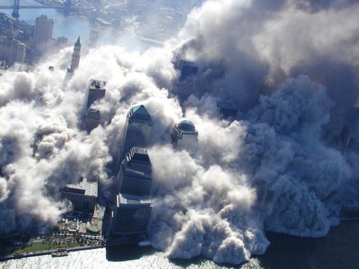 Теракт в США 11 сентября.