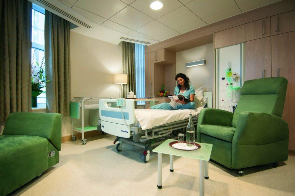 Клиника для рождения ребенка в США