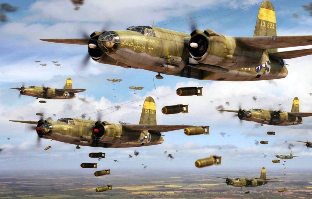 Американские бомбардировки Третьего рейха