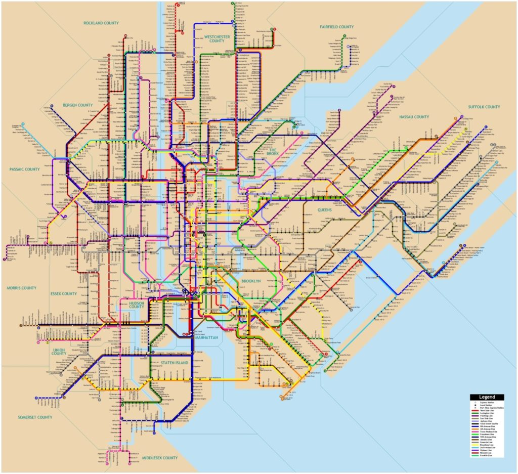 Линии и маршруты