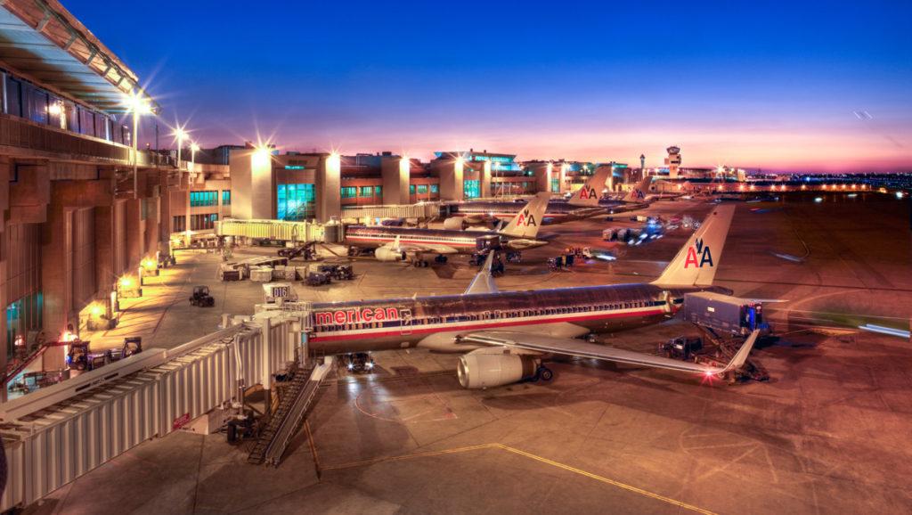 Международные аэропорты США