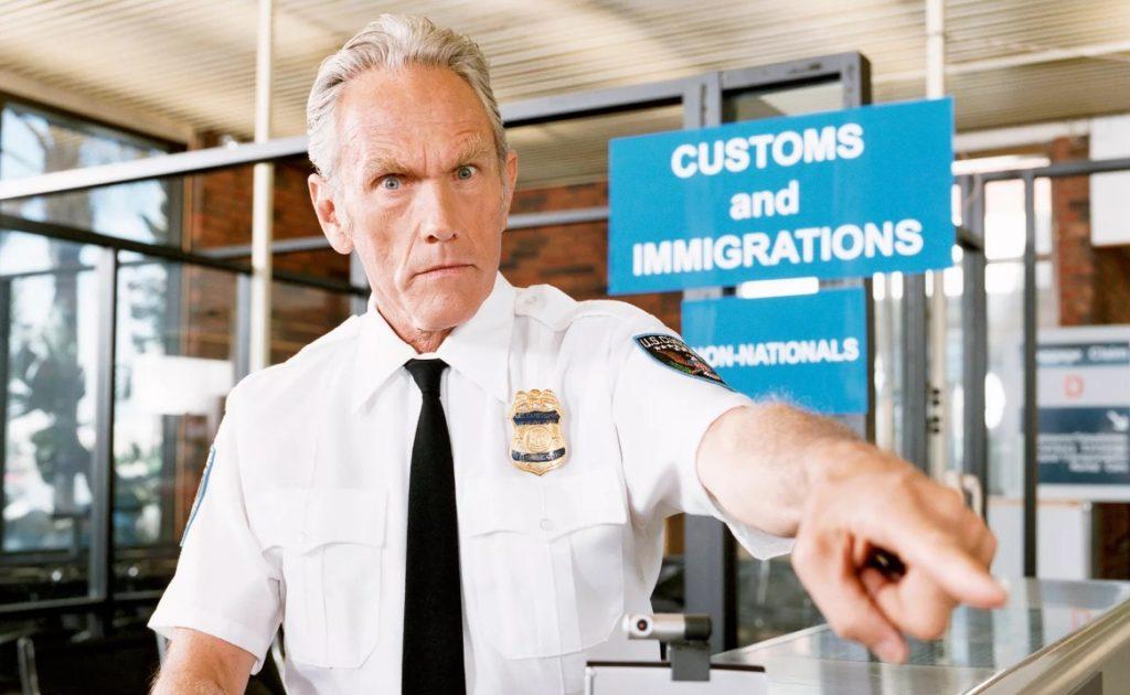 Особенности контроля в аэропорту США