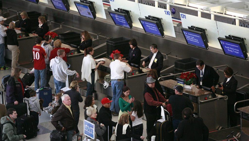 Популярность авиаперелетов в Америке