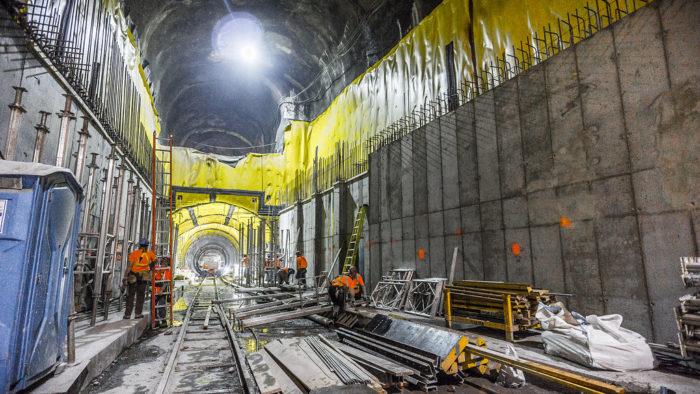 Строительство линии East Side Access