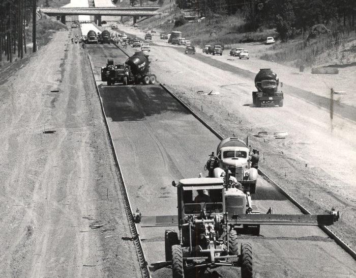 История появления автодорог в США