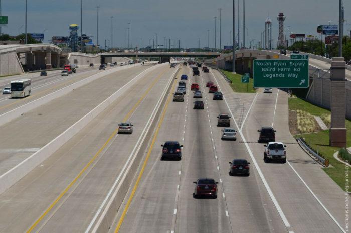 Содержание дорог в Америке