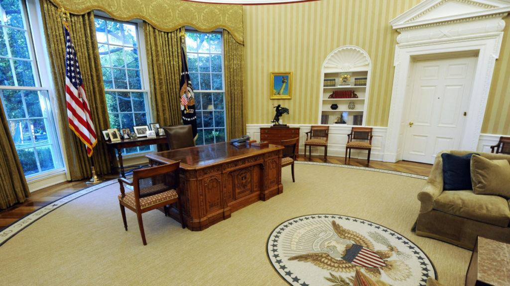 Кабинет президента США в Белом доме