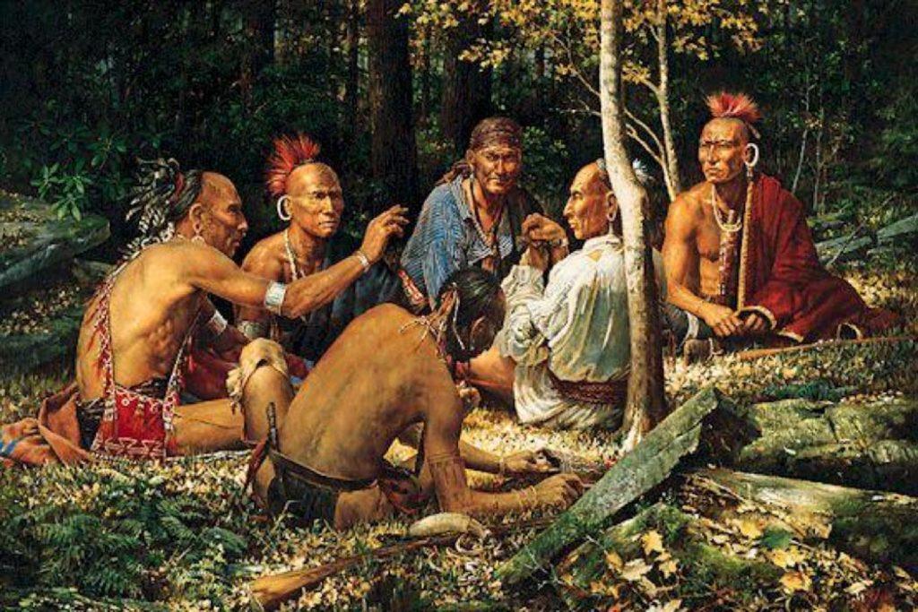 древнее индейское племя ирокезов