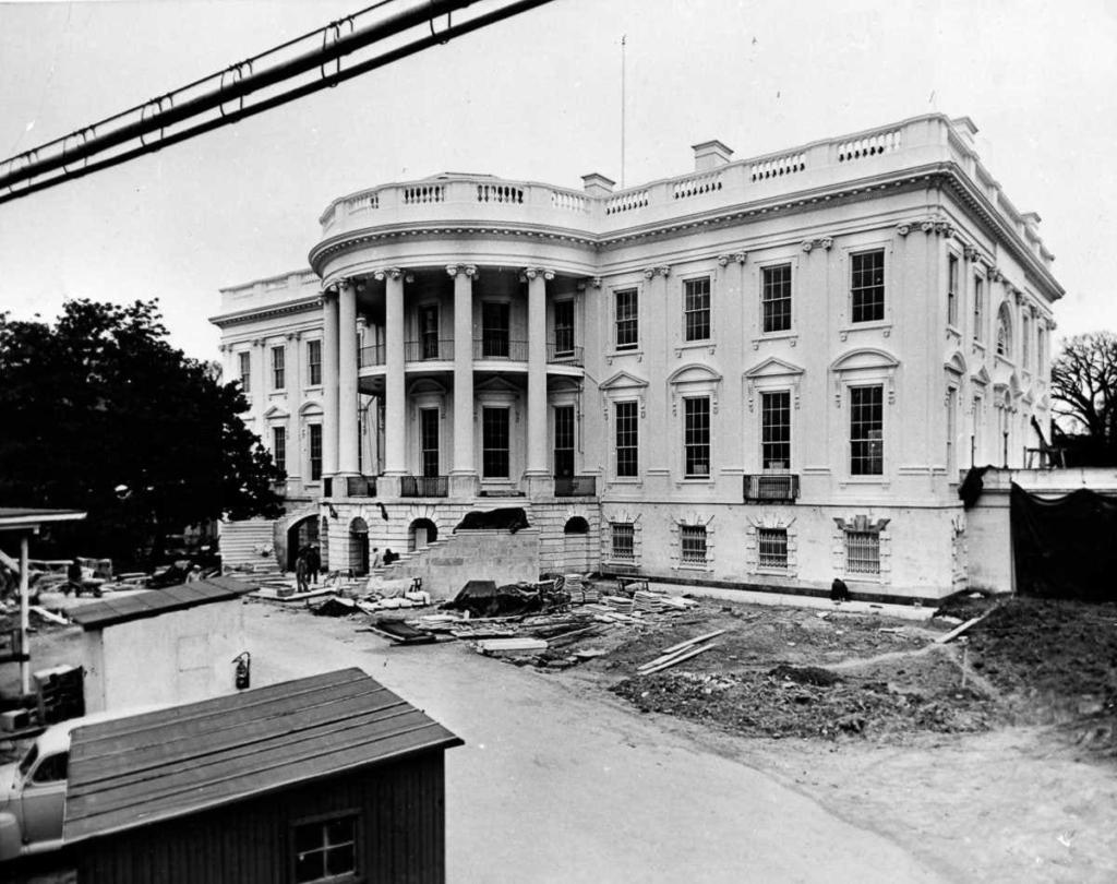 История белого дома