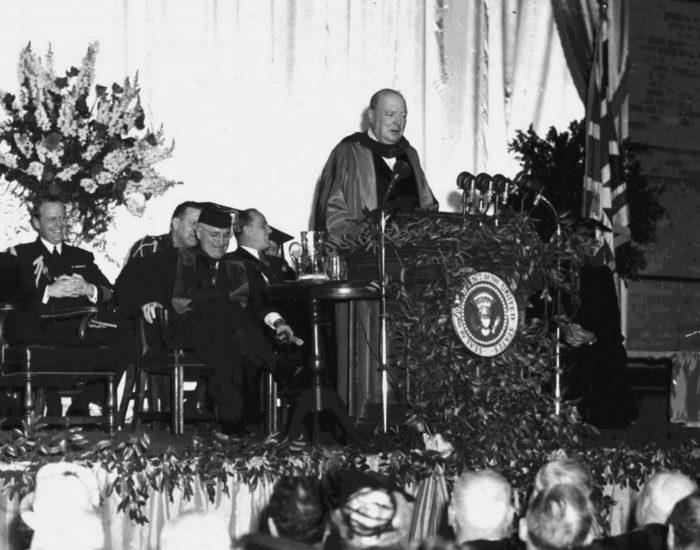Речь Черчилля 5 марта 1946