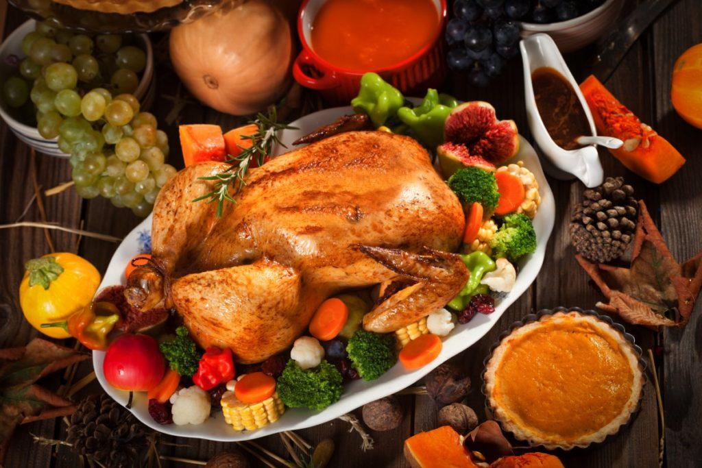 Традиционное блюдо на День благодарения в США