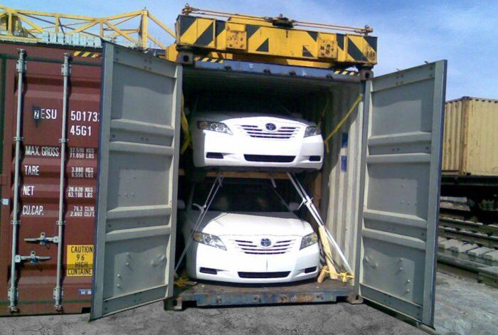 Доставка в контейнере